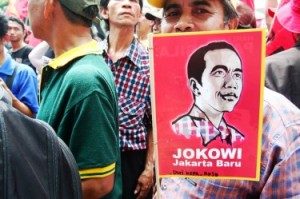 Indonesia's favorite to win the July 2014 Presidential Election- Joko Widodo